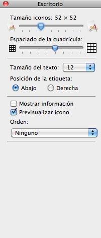 alinear iconos mac por defecto automaticamente 4 Alinea los iconos en el Finder automáticamente