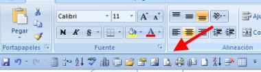 barra office 41 Personaliza la barra de herramientas de acceso rápido en Office 2007