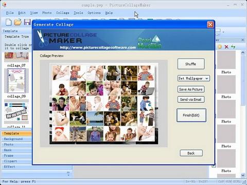 Hacer collages de fotos con PictureCollageMaker - collage-fotos
