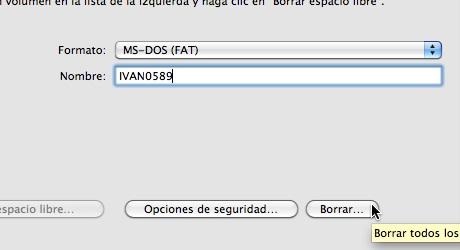 como formatear disco mac usb 4 Como formatear en Mac
