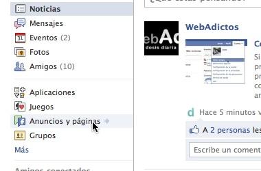 crear paginas facebook desde tu cuenta 1 Crear pagina en facebook