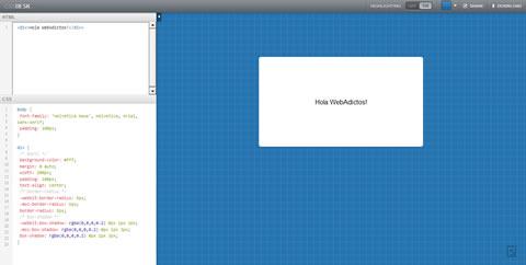 Editor CSS online, CSSDesk - editor-css