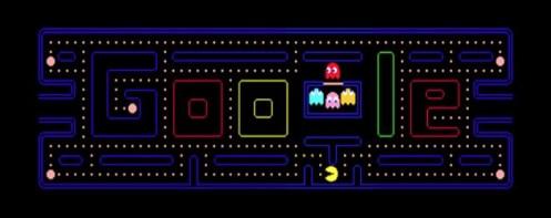 Google conmemora el 30 aniversario de Pac-man con un logo jugable - g19