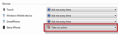 Como desactivar la reproducción automática de tu iPhone en Windows 7 - iPhoneDisableAuto.png