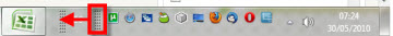 Agrega la barra de Inicio rápido a la barra de tareas en Windows 7 - inicio-rapido-5