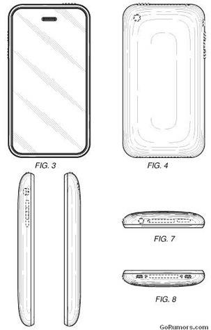 Apple pantenta el diseño del iPhone 3G y del 3GS - iphone-form-factor3g_s
