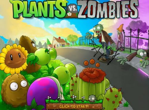 Plantas vs Zombies, videojuego - plantas-vs-zombies