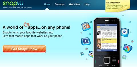 programas para celulares Aplicaciones web en tu celular con Snaptu