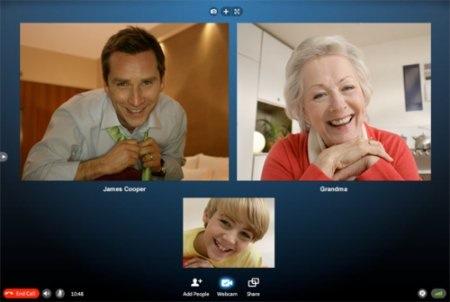 Skype beta 5 para windows esta disponible e incorpora videoconferencia de hasta 5 personas - skype-5-beta