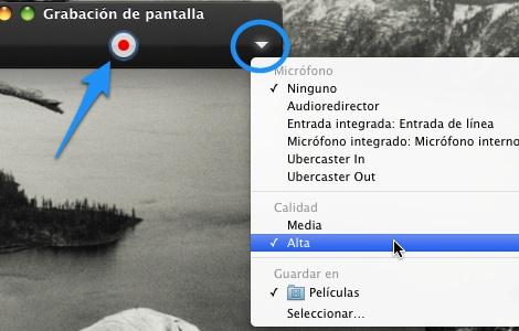 Grabar pantalla Quicktime mac 1 Cómo usar Quicktime Player para grabar tu pantalla