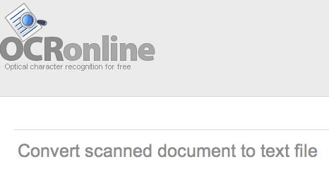 Como convertir documentos escaneados a texto con OCR Online - OCR-Online