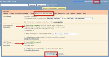Agregar Gmail a Windows Live Mail - POP-IMAP-gmail