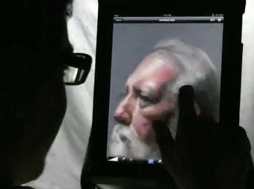 Quien dijo que no se podía pintar con dedos [video] - Pintura-con-los-dedos-en-el-iPad