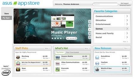 Asus prepara una tienda de aplicaciones para netbooks - assu-app-store