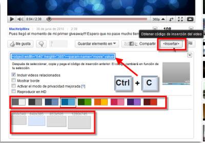 Insertar videos de Youtube en Power Point 2010 - codigo-youtube-video