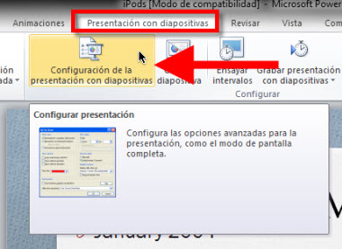 Power Point 2010: Usar tu mouse como apuntador - configurar-apuntador-power-point