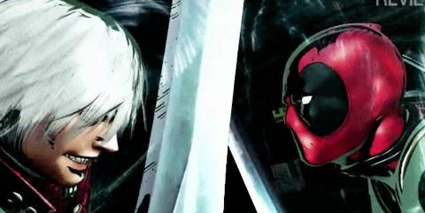 Marvel Vs Capcom 3, segundo teaser trailer lanzado - deadpool-dante