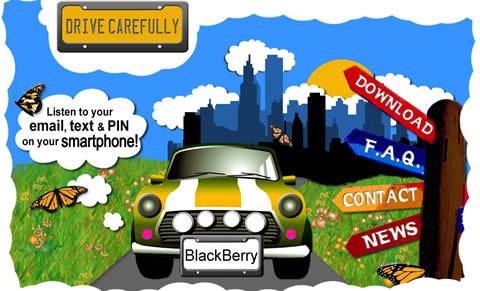 drivecarefully Programas blackberry, DriveCarefully