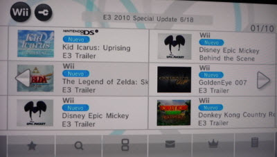 Videos del E3 disponibles en Canal Nintendo Wii - e3-2010-canal-nintedo