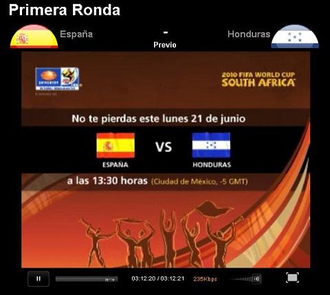 España vs Honduras en vivo - espana-honduras-en-vivo-mundial