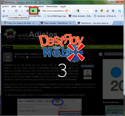 Destroy the Web, juega con Firefox - firefox-destroy-the-web