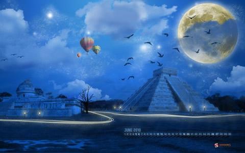 Wallpapers de Junio 2010 - fondos-pantalla-gratis-midnight-moon