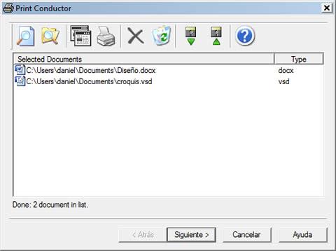 imprimir archivos printconductor Imprimir archivos sin abrirlos