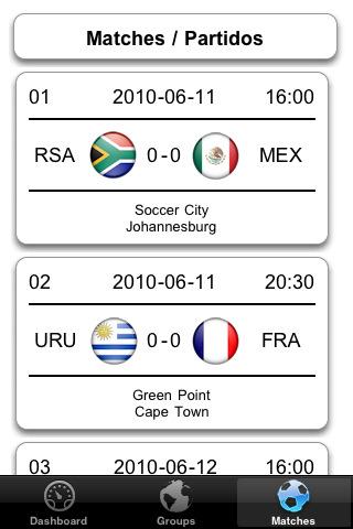 Mundial 2010 en iPhone - isouthafrica-2010-free