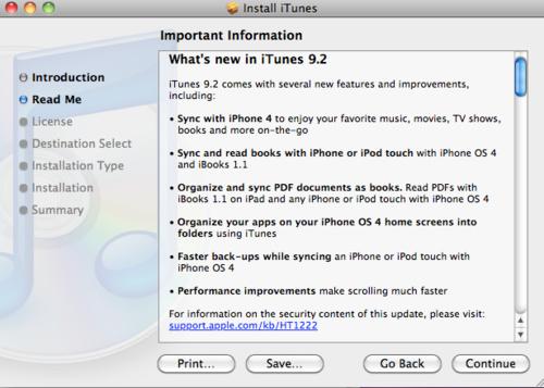 itunes 9.2 iTunes 9.2 es liberado