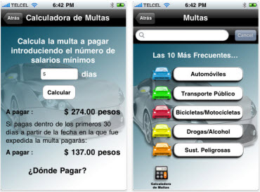 "Crean aplicación ""Antimordidas"" para iPhone - multas"
