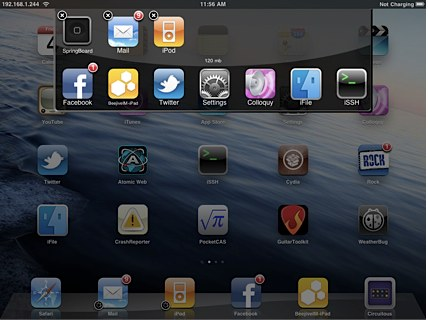 Multitask en el iPad con Circuitous - multitask-ipad