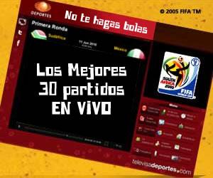 mundial en vivo Mundial en vivo, TelevisaDeportes.com