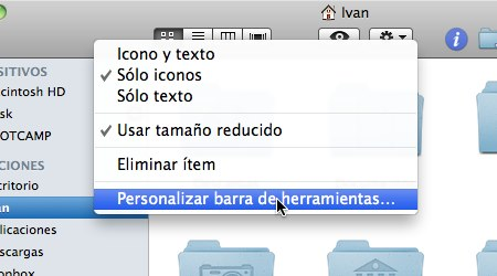 personalizar barra herramientas mac 1 Como personalizar las Barras de Herramientas de Mac