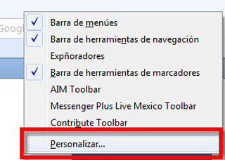personalizar firefox Acceder a varios navegadores desde Firefox