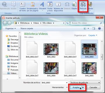 Añadir un video a una Presentación Power Point - power-point-video