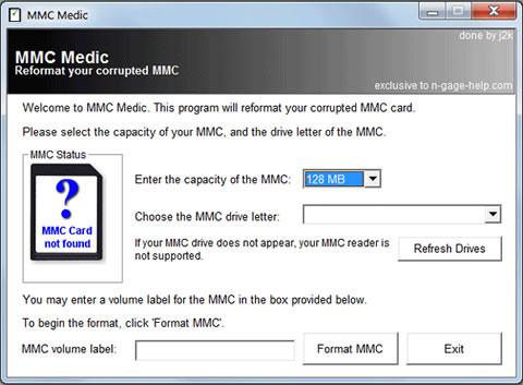 Repararar memorias MMC con MMC Medic - reparar-memorias-celulares
