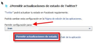 Como vincular tu cuenta de Twitter con Facebook - seleccionar-perfil-facebook
