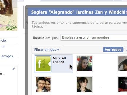 seleccionar todos amigos facebook 2 Como seleccionar todos tus amigos en Facebook