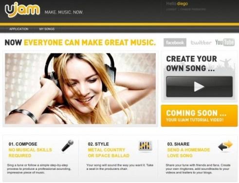 Crea música con Ujam - ujam1-600x461