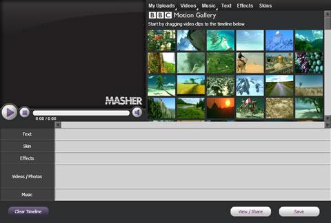 Crear videos con Masher - videos-de-fotos