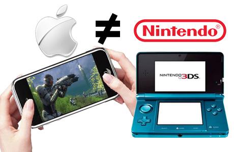 No habrá juegos de Nintendo para iPhone - Apple-y-nintendo-no-se-llevan