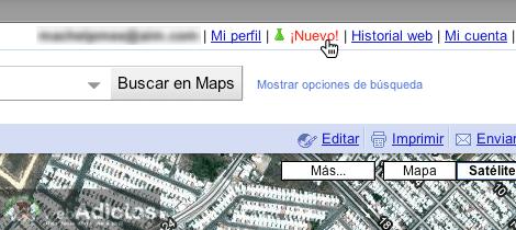 Como activar acortador url google maps 2 Como activar acortador de enlaces de Google Maps