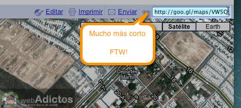 Como activar acortador url google maps 7 Como activar acortador de enlaces de Google Maps