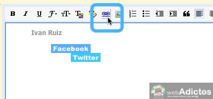 Como hacer una firma de correo en gmail 7 Hacer firma de correo en Gmail