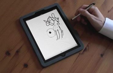 Dibujo sensible a la presión en el iPad [video] - El-iPad-podria-detectar-presion-de-pluma