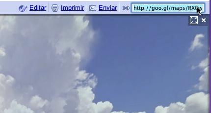 Google Maps ahora tiene acortador de enlaces - Google-Maps-url-shortener