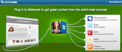 Google compra a la empresa de web semántica Metaweb - Google-Metaweb