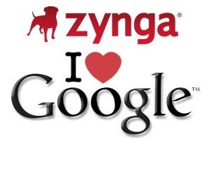 Google invierte en la empresa de juegos virales Zynga - Goolge-Zynga