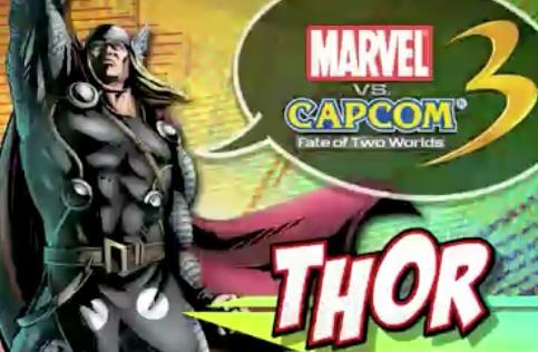 Nuevos Personajes de Marvel Vs Capcom 3 - Marvel-Vs-Capcom-3-Thor-Amaterasu