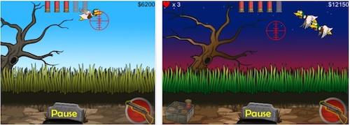 Juego gratis para iPhone, Zombie Duck Hunt - Zombie-Duck-Hunt